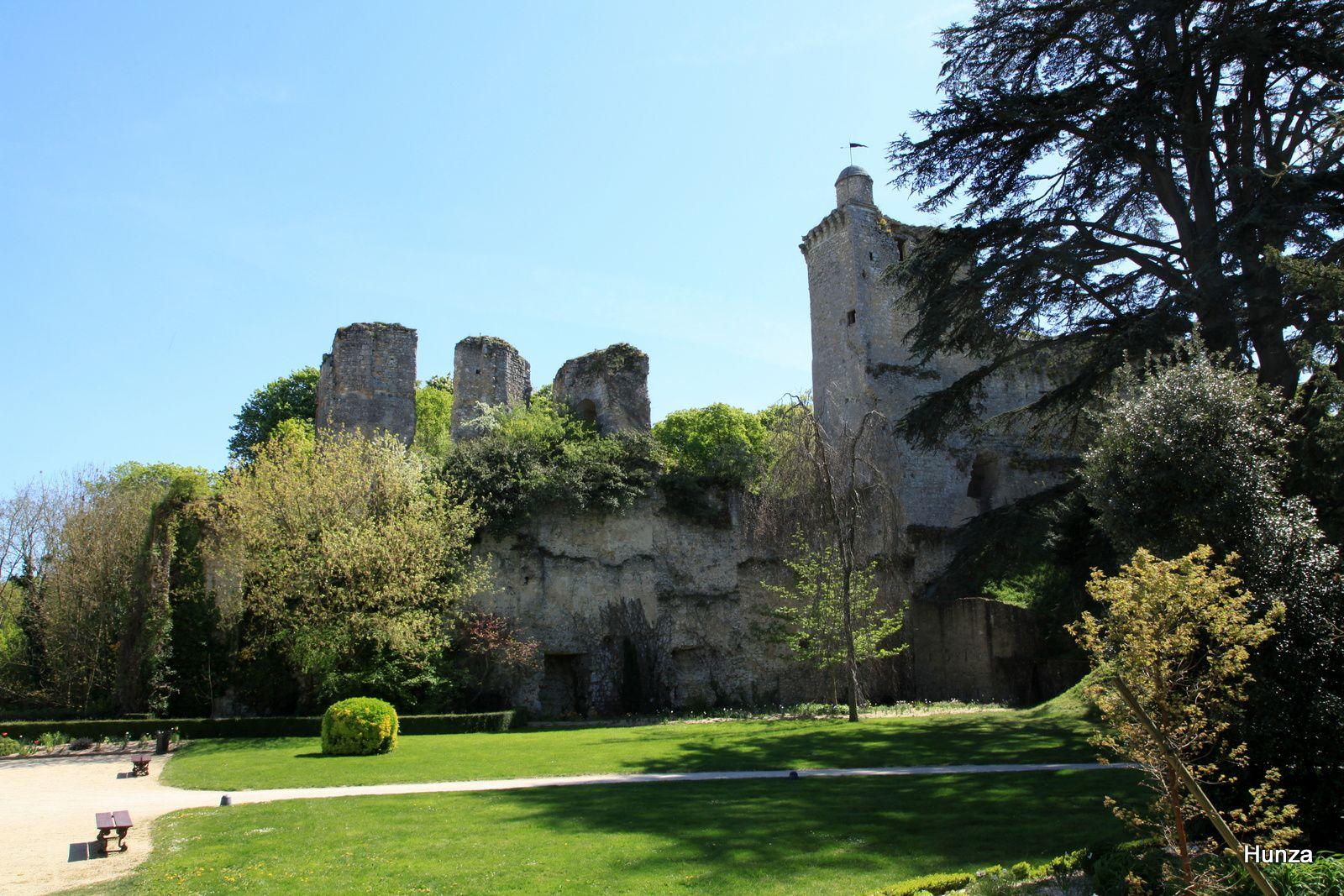 Les vestiges du château