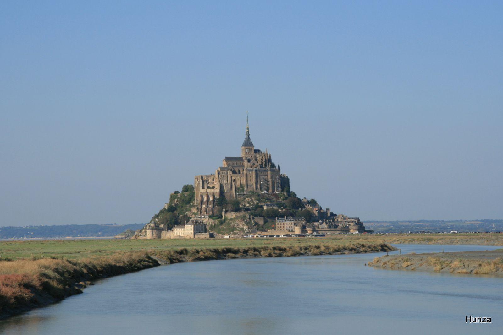 Le Couesnon et le Mont Saint-Michel (année 2011)