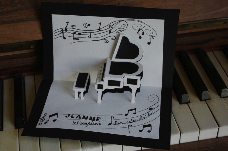 Kirigami gratuit piano