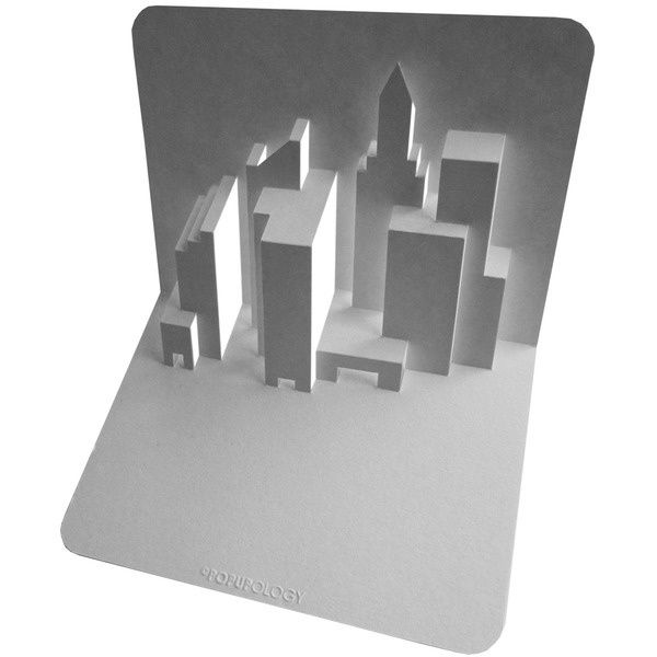 Kirigami gratuit New York Skyline