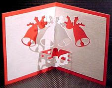 Free Pattern Kirigami cloches PEACE