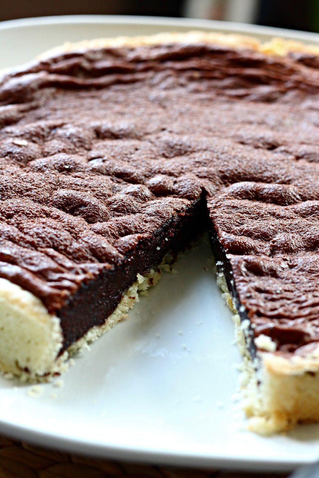 Tarte truffée au chocolat, 100% facile