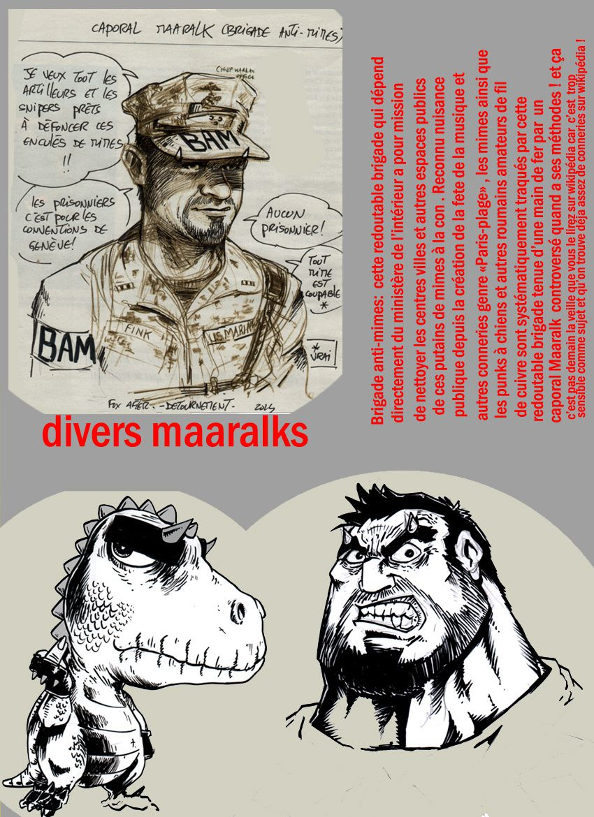 divers Maaralks