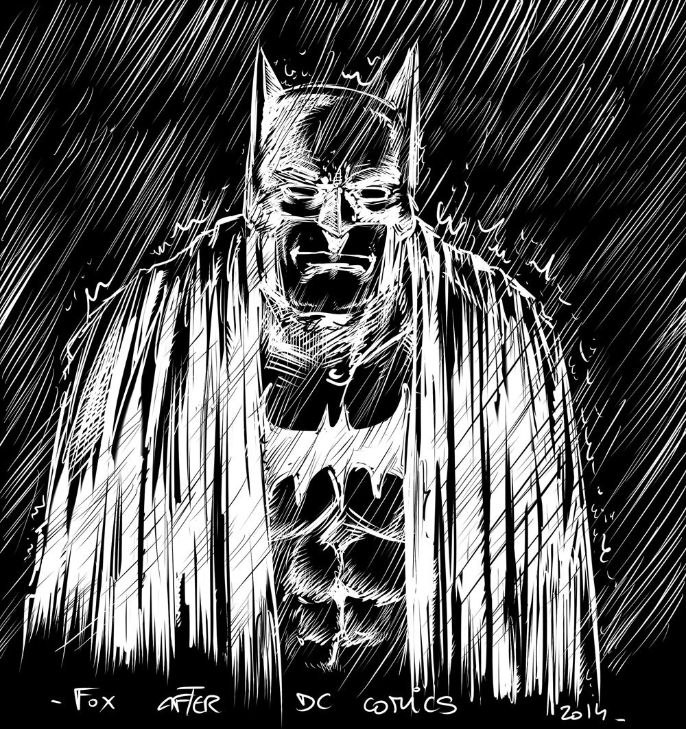 batman sur tablette