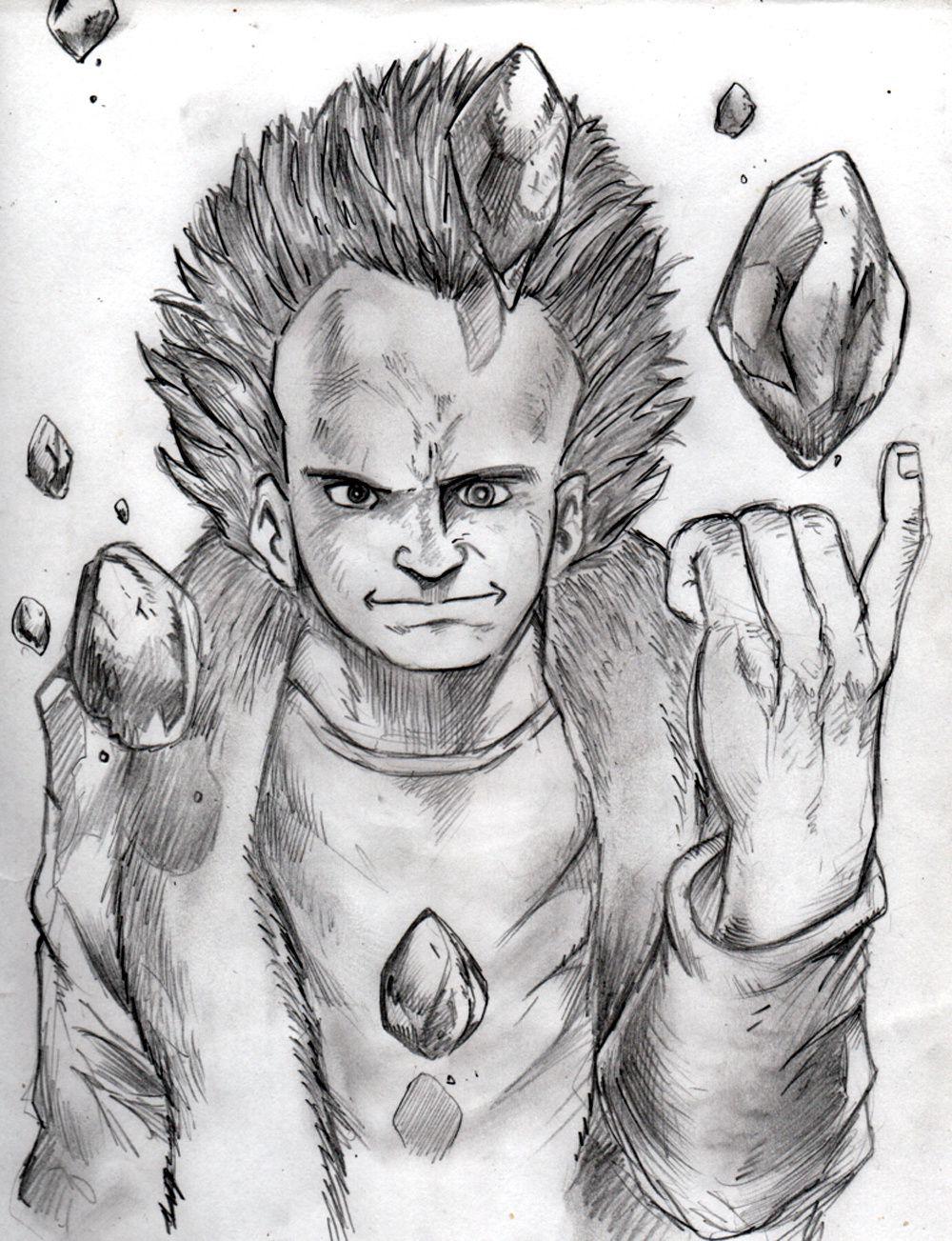 hommage Ottomo (crayonné Tetsuo)
