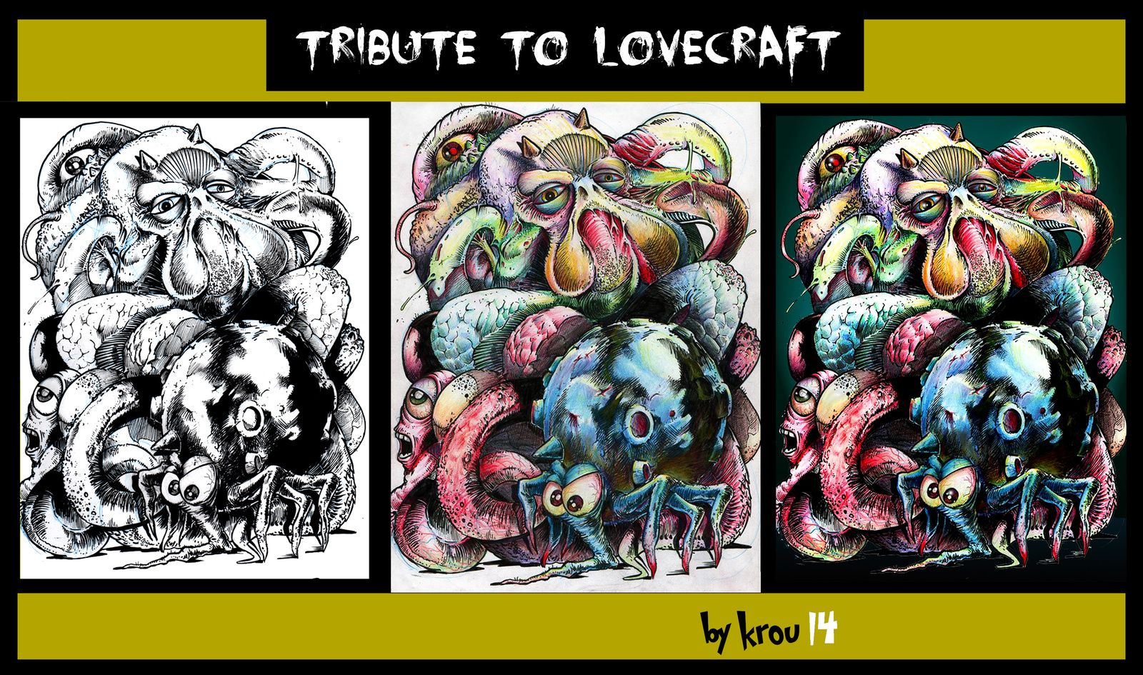 tribute to lovecraft (3 étapes krou 14)