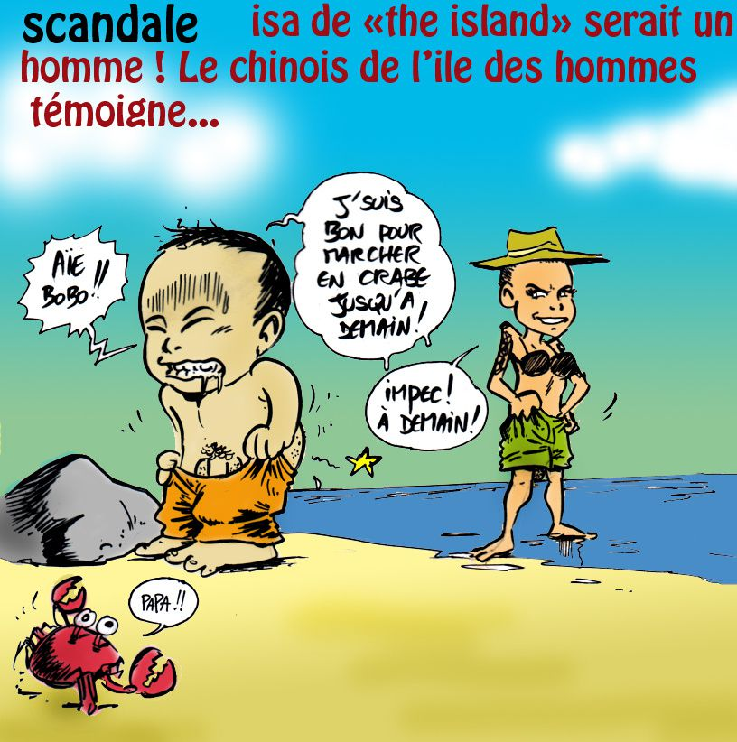 scandale &quot&#x3B;the island&quot&#x3B;