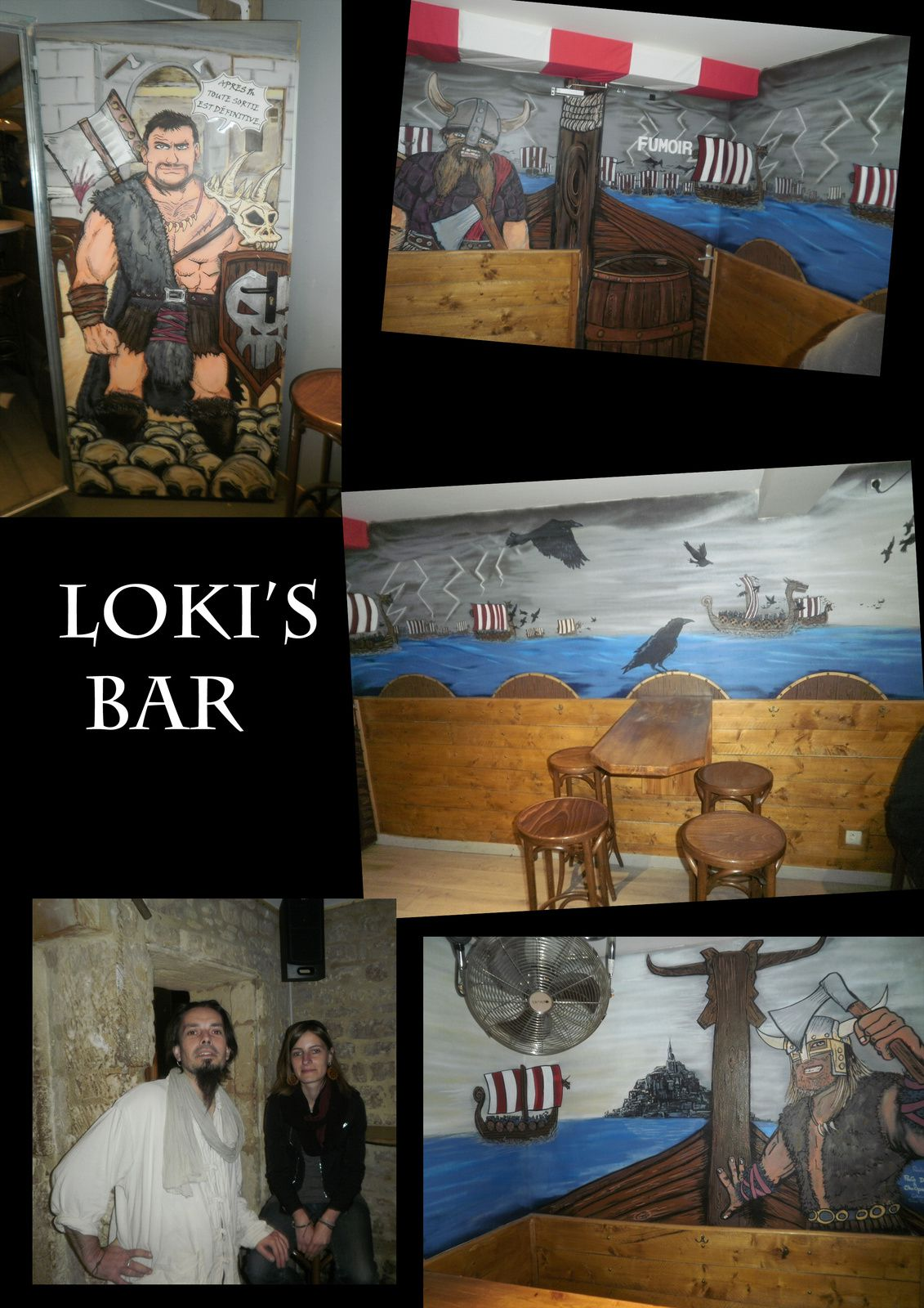 Loki's bar déco (Paco-Choopie-riton Fox) A