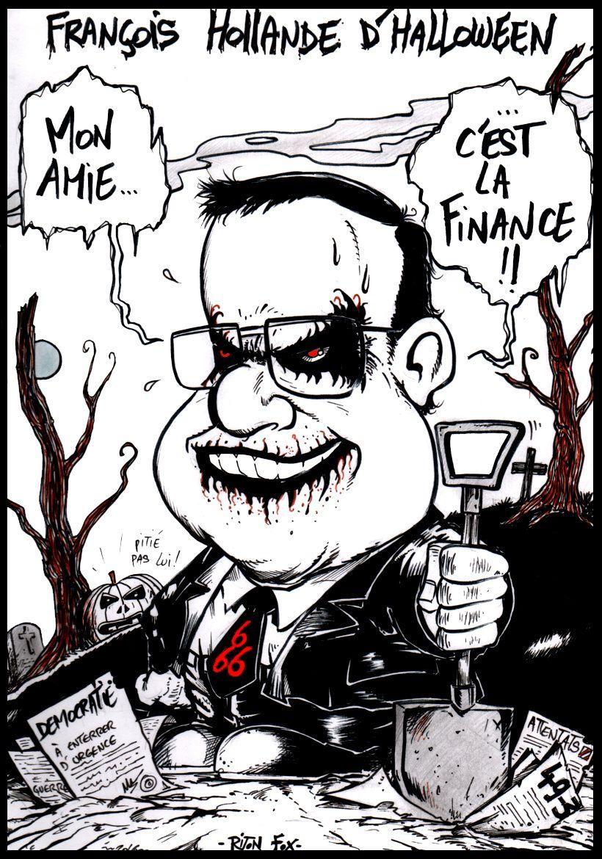 Hollande d'halloween