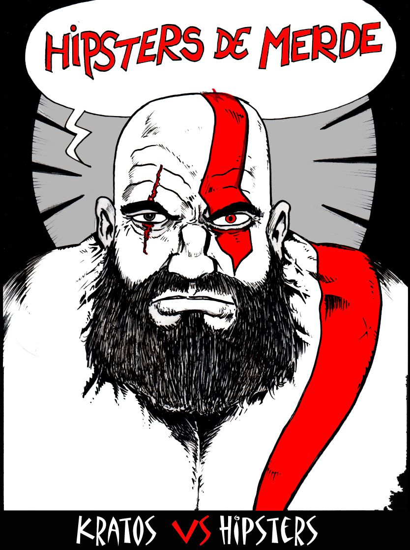 Kratos vs Hipsters