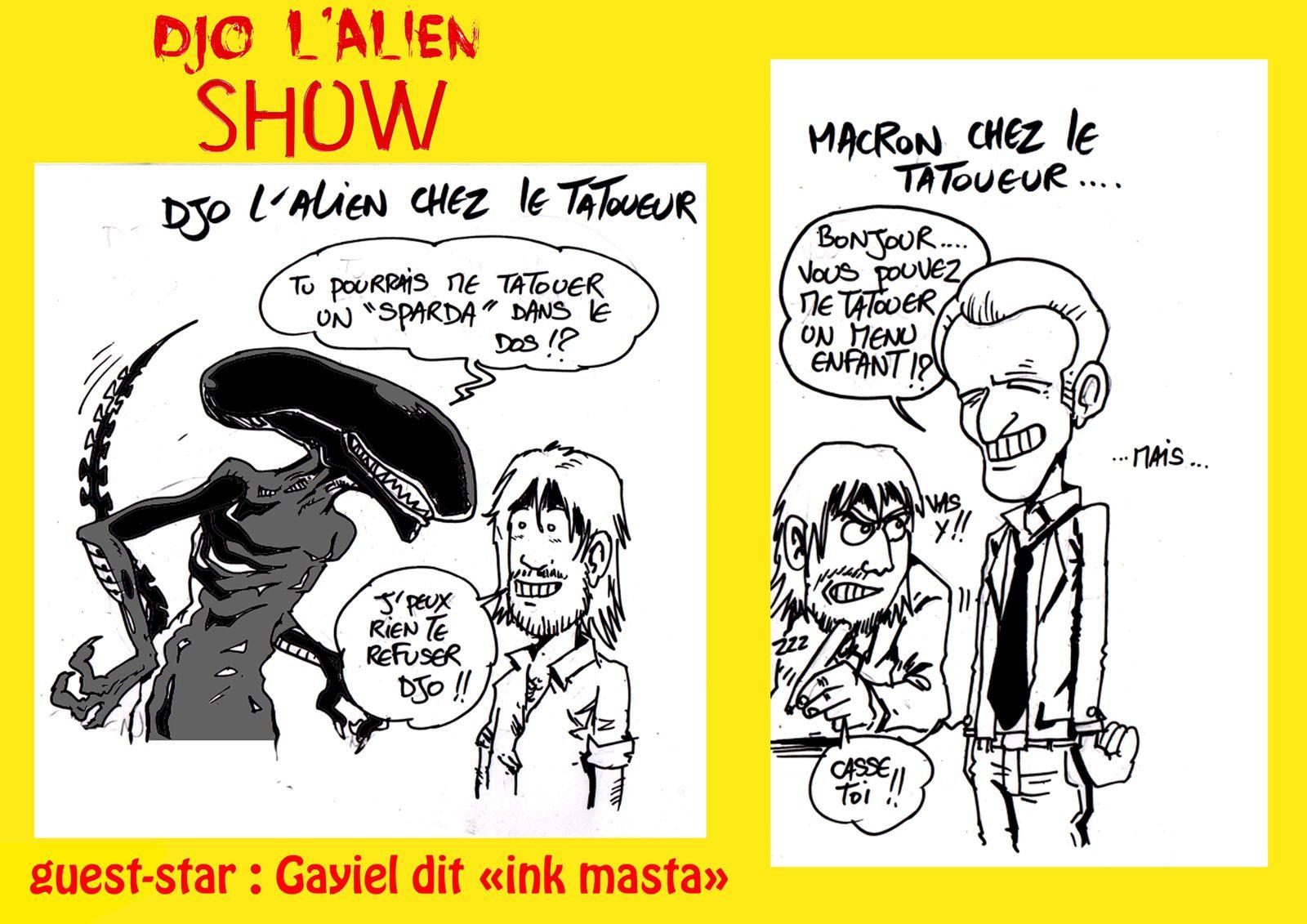 Djo l'alien &amp&#x3B; Gayiel ink-masta