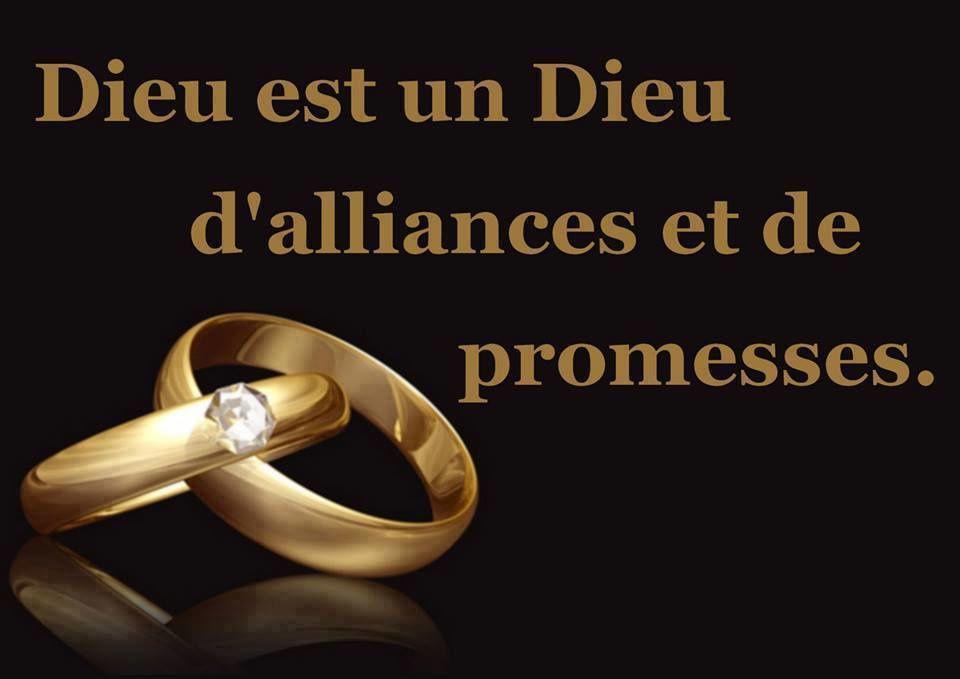 Dieu est un Dieu d'Alliances