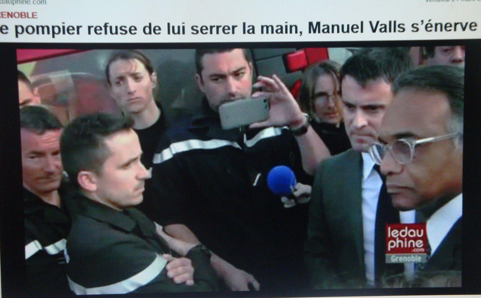 Quand Valls vérifie, à ses dépens, l'intensité de la colère qui monte.