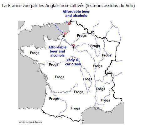 La France vue par les relativistes.