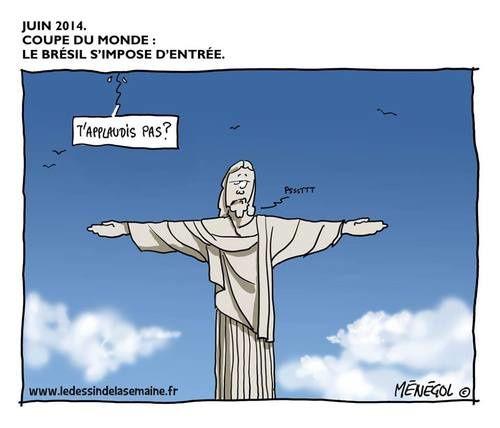 Brésil : Ce que les spectateurs du «mundial» de football n'ont, peut-être, pas vu.