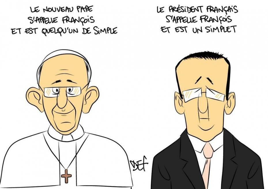 La leçon de François de Rome à François de Paris.