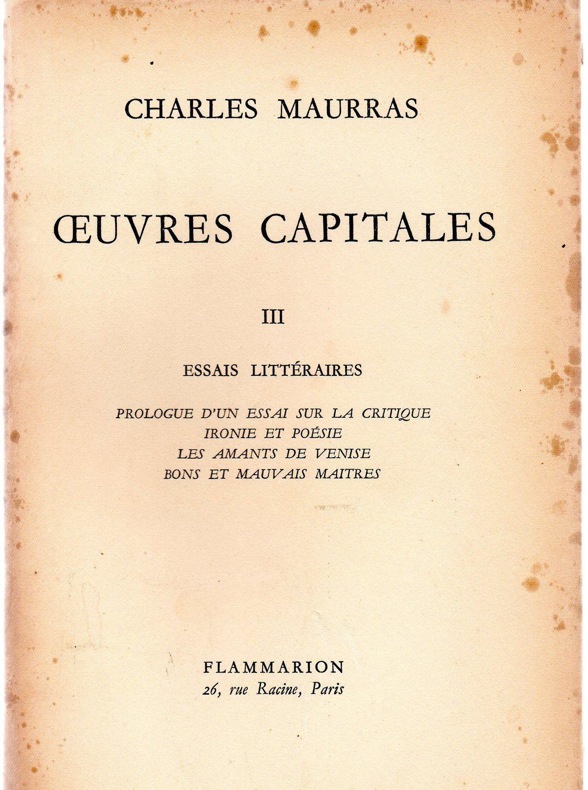 Un «jeune» sage : François-Joseph Ousselin.