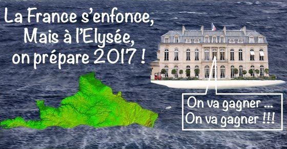 En 2017 Hollande croit pouvoir gagner.