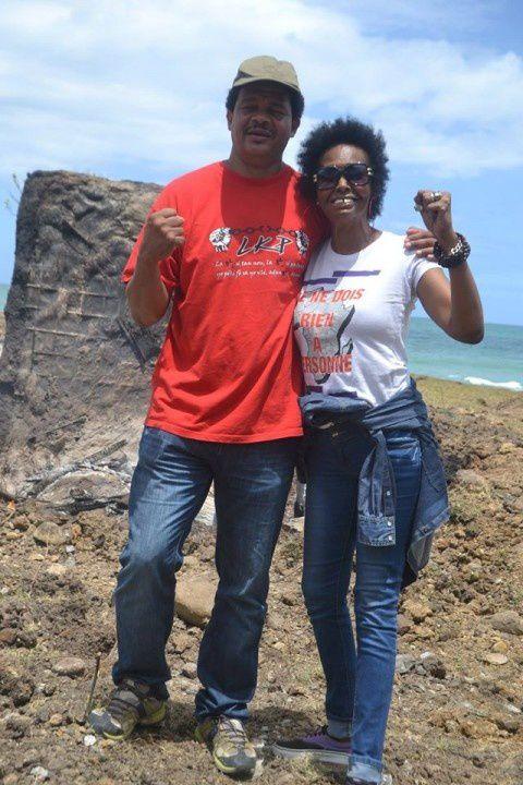 La profanation de la Pointe Allègre à Sainte Rose, en Guadeloupe.