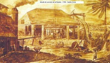 HISTOIRE : Une Habitation à la Grande Terre, avant l'émancipation des noirs, par Augustine de Lauréal.