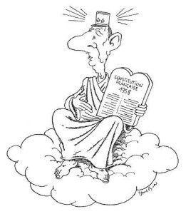 1 ) 1969 : de Gaulle en Irlande joue le roi Lear.  2 ) De Gaulle au Paradis.