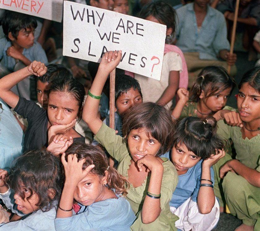 Petit billet triste sur les enfants vendus, légalement aux USA. .