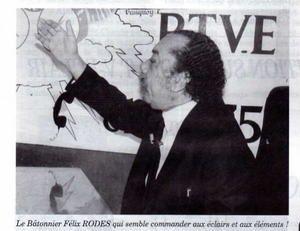 Maître Félix Rodes est mort, par Edouard Boulogne.