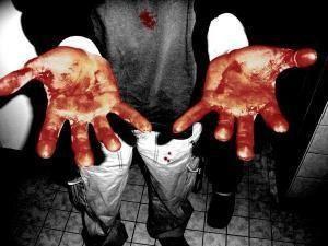 lls ont du sang sur les mains.
