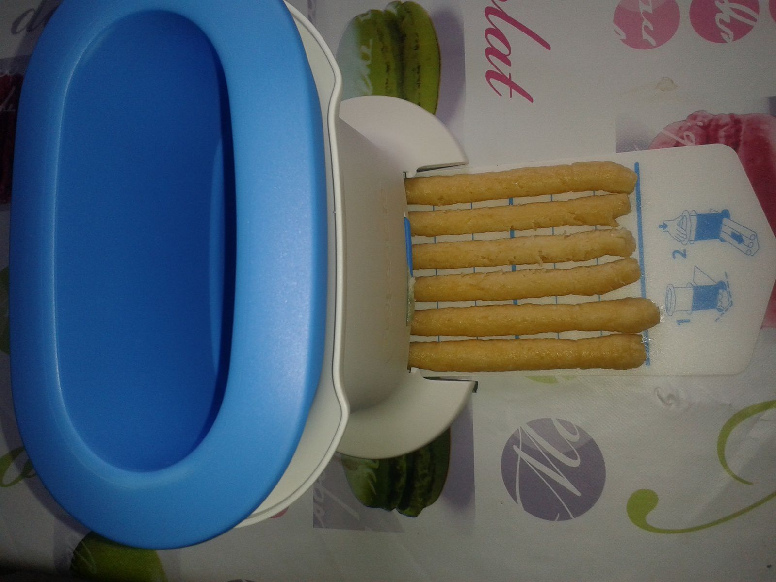 crackers au fromage tupp crousty party