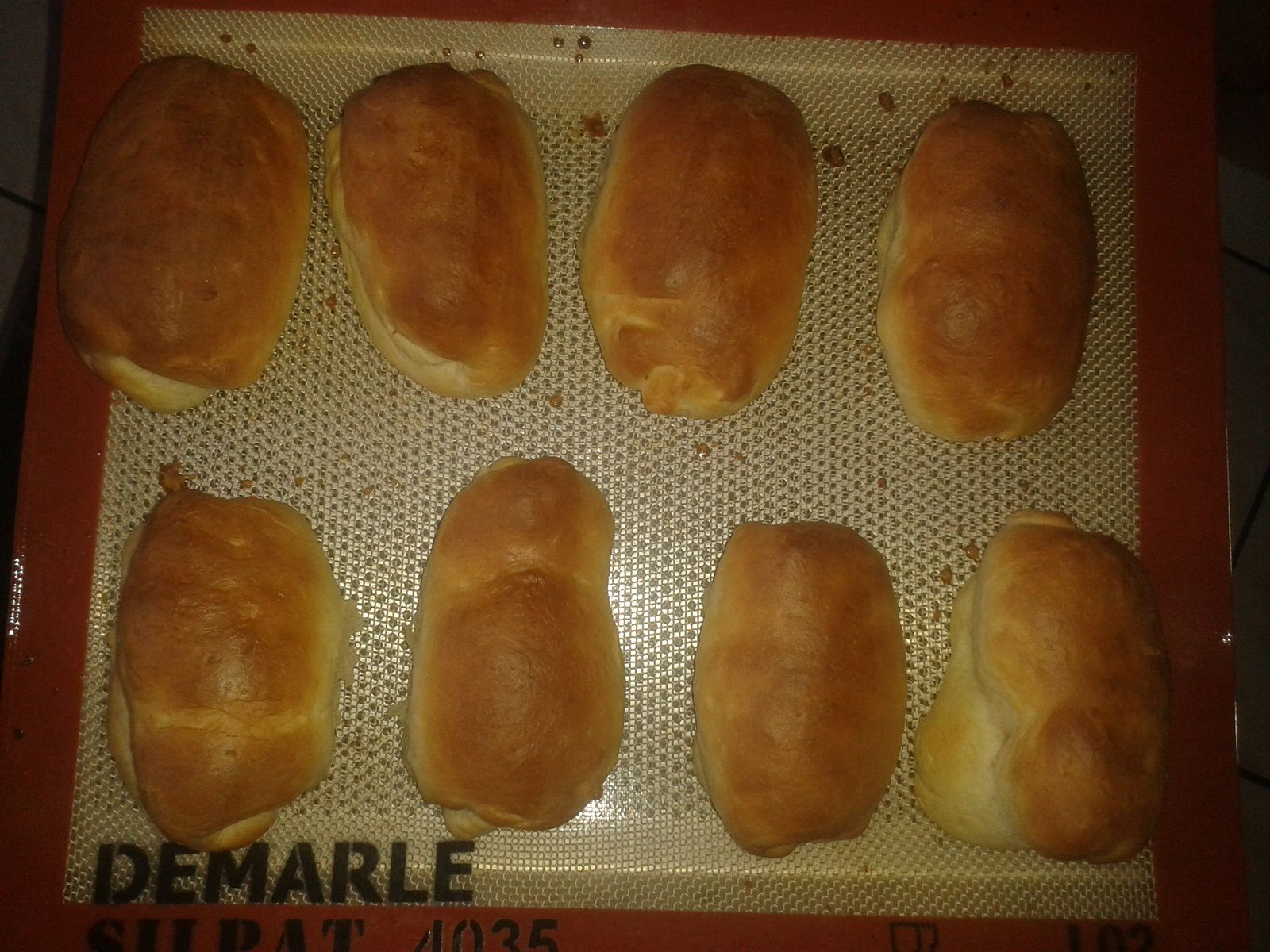 Petits pain au chocolat briochés thermomix