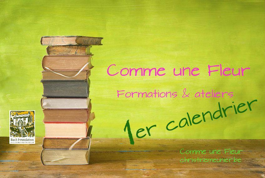 48 – 1er calendrier des formations agréées et ateliers