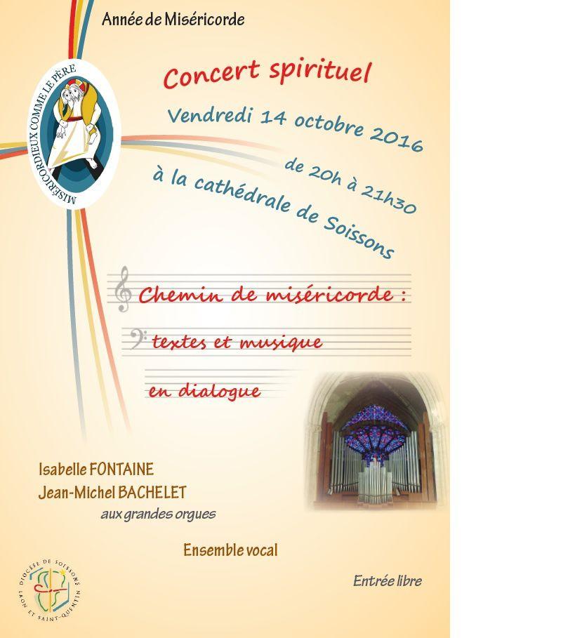 Concert spirituel &quot&#x3B;Chemin de miséricorde&quot&#x3B;