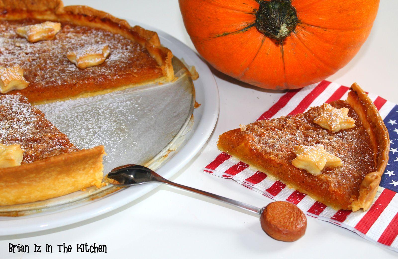 Tarte au Potiron / Pumpkin Pie