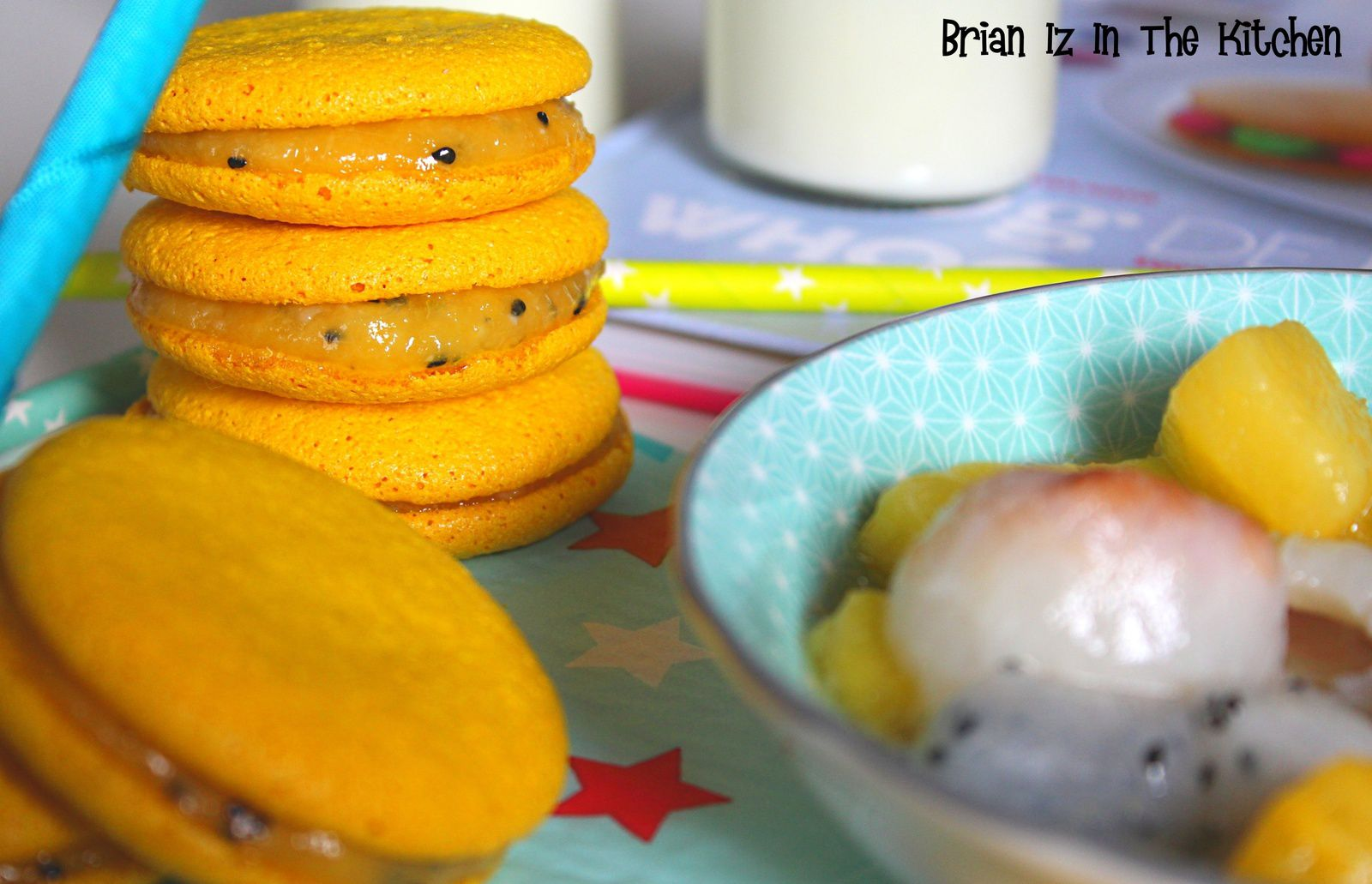 Whoopies aux Fruits Exotiques