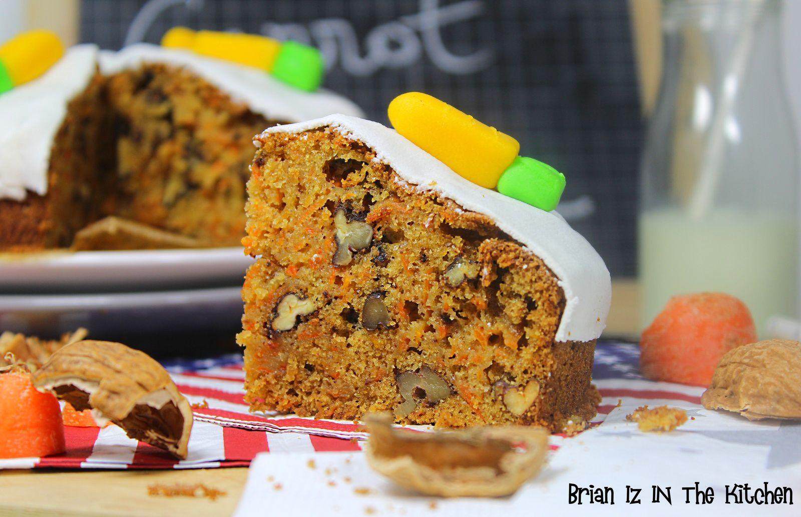 Carrot Cake - Gâteau à la Carotte