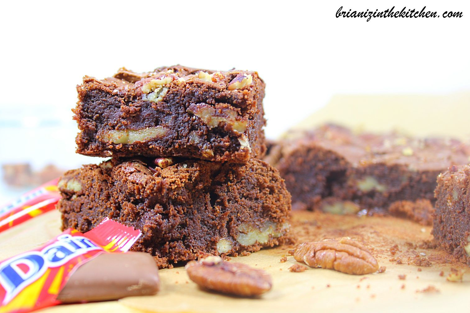 Brownie Noix de Pécan &amp&#x3B; Daims