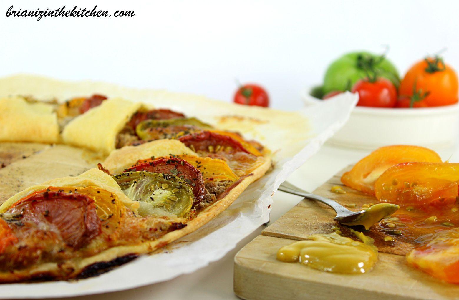Tarte Couronne Tomates, Thon &amp&#x3B; Mozzarella