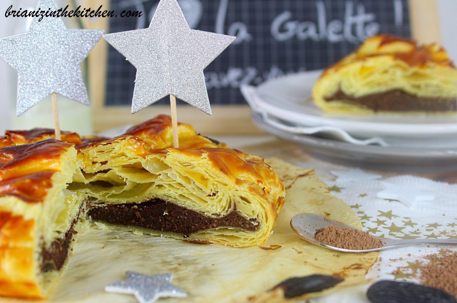 Mini-Galettes Frangipane au Chocolat Blanc &amp&#x3B; Myrtilles