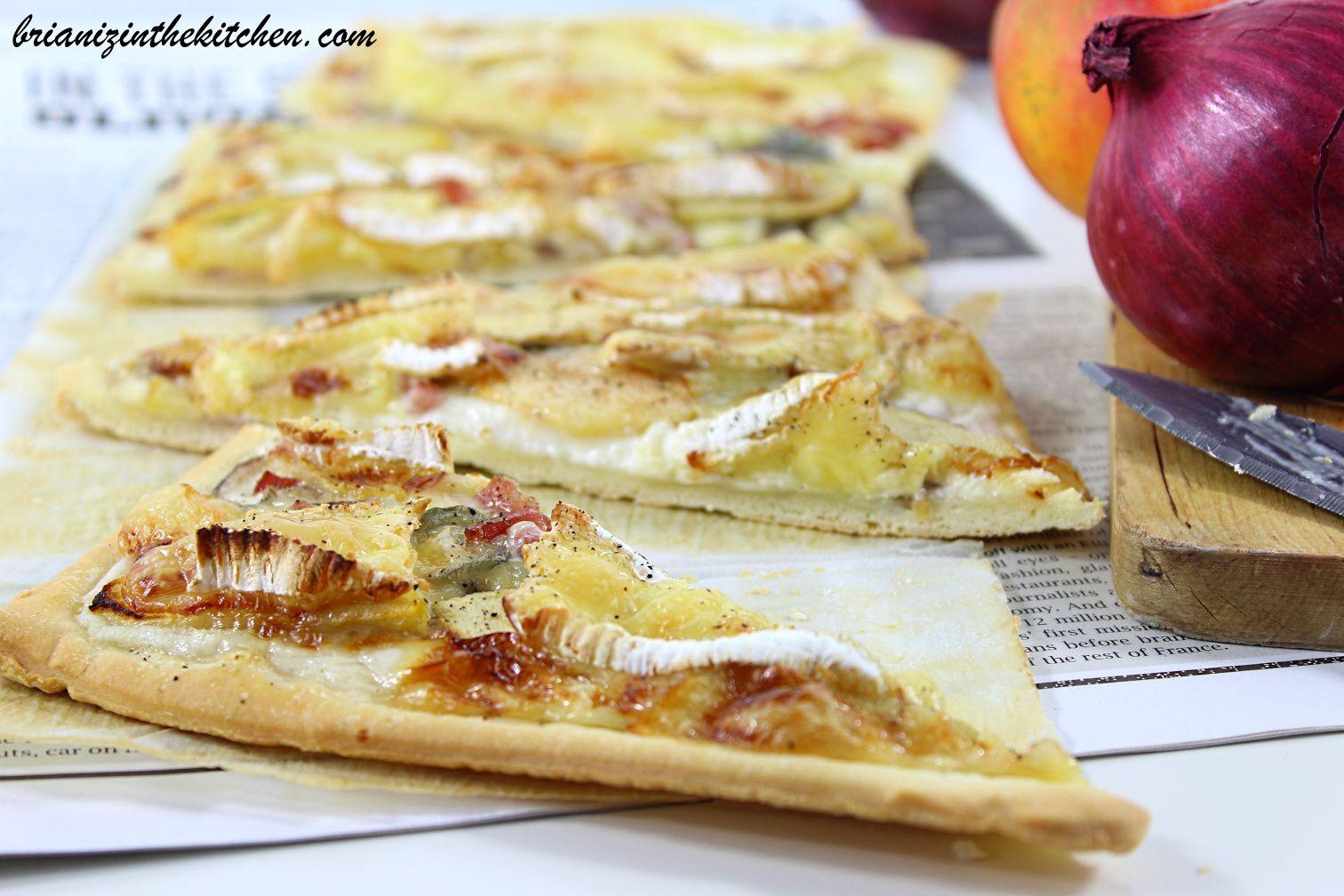 Pizza aux Saveurs Normandes