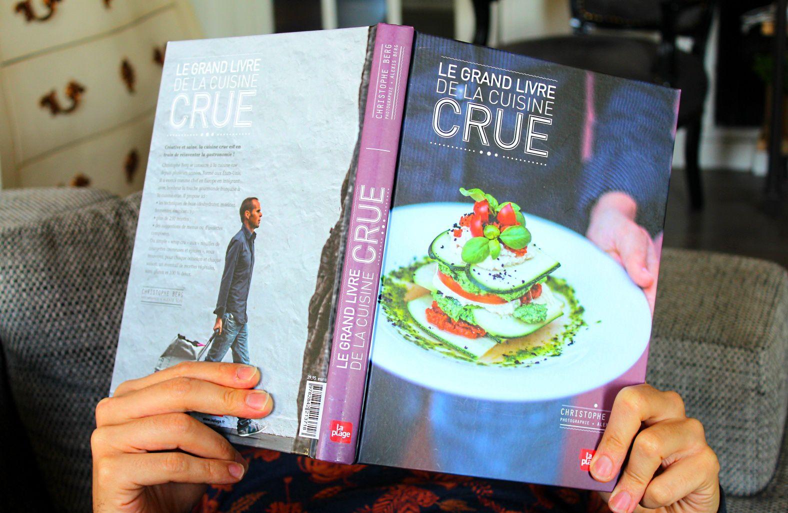 Concours &quot&#x3B;Le Grand Livre de la Cuisine Crue&quot&#x3B; à Gagner &amp&#x3B; Résultats - Natura Sense