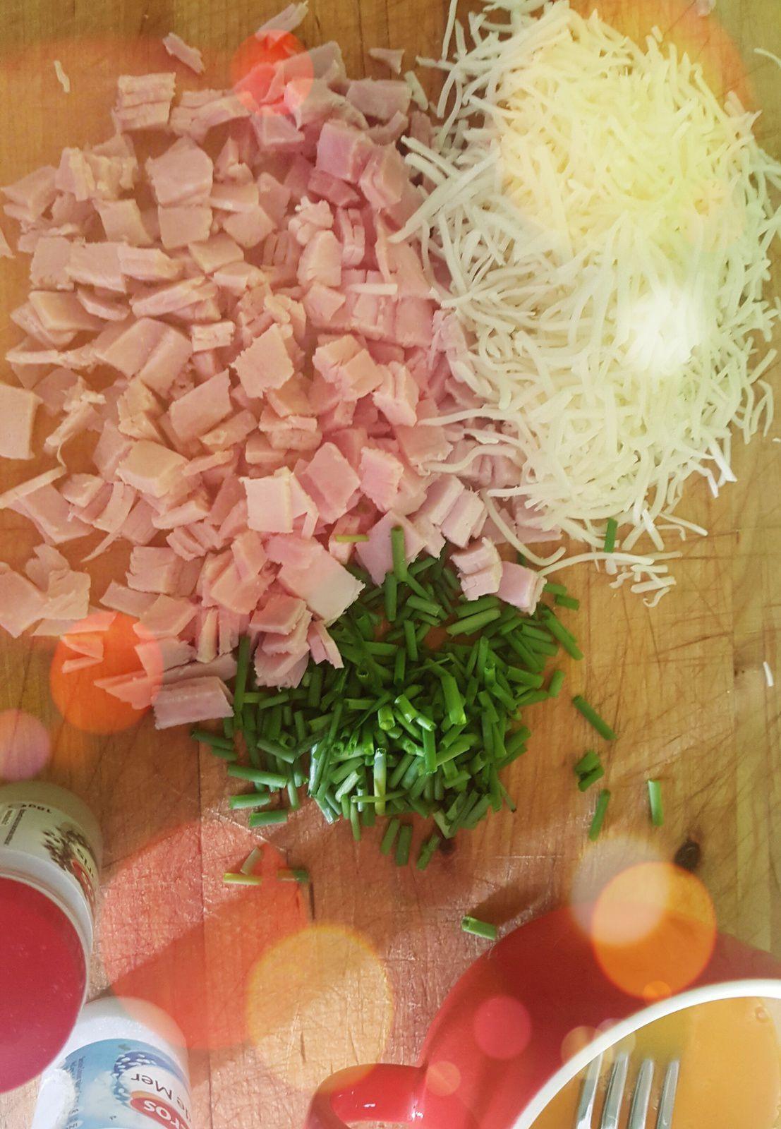 Purée / Jambon en Croquettes