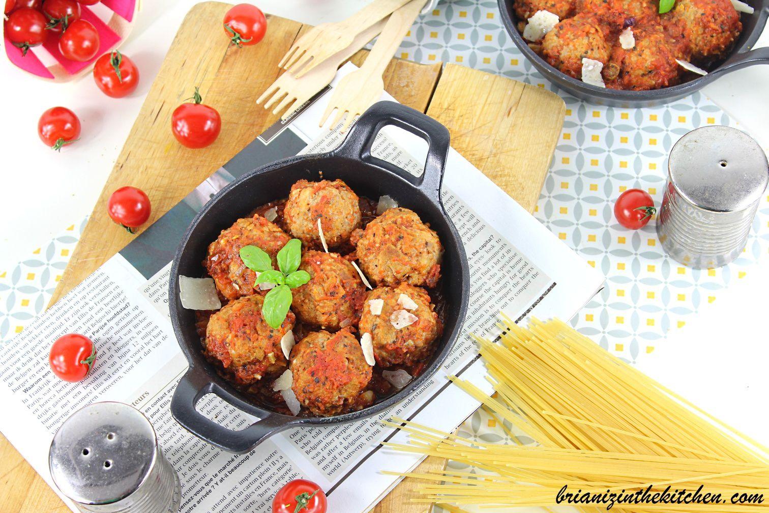 Polpette de Viande à la Sauce Tomate
