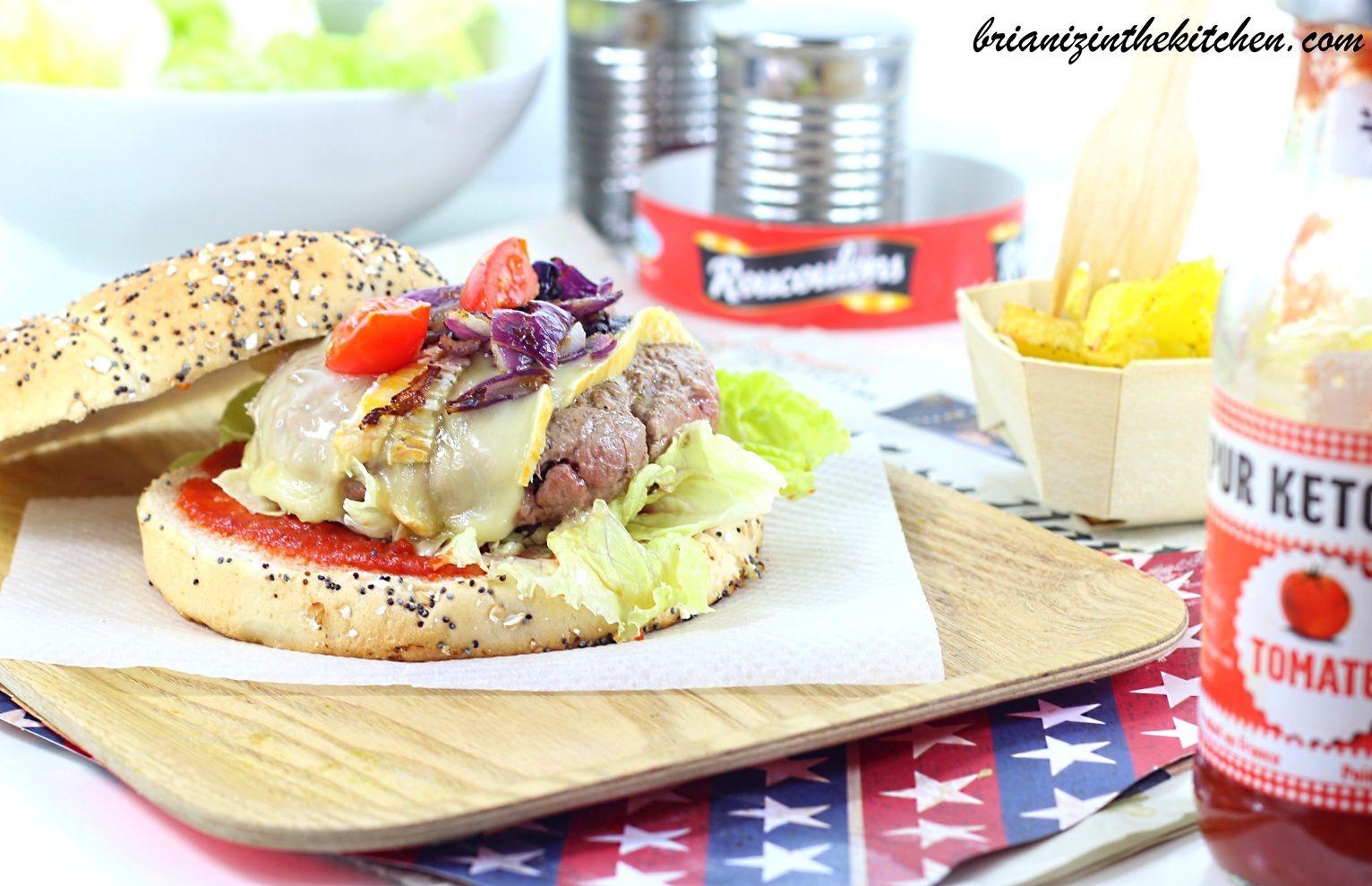 Burger au Roucoulons - J'ai besoin de vos votes!