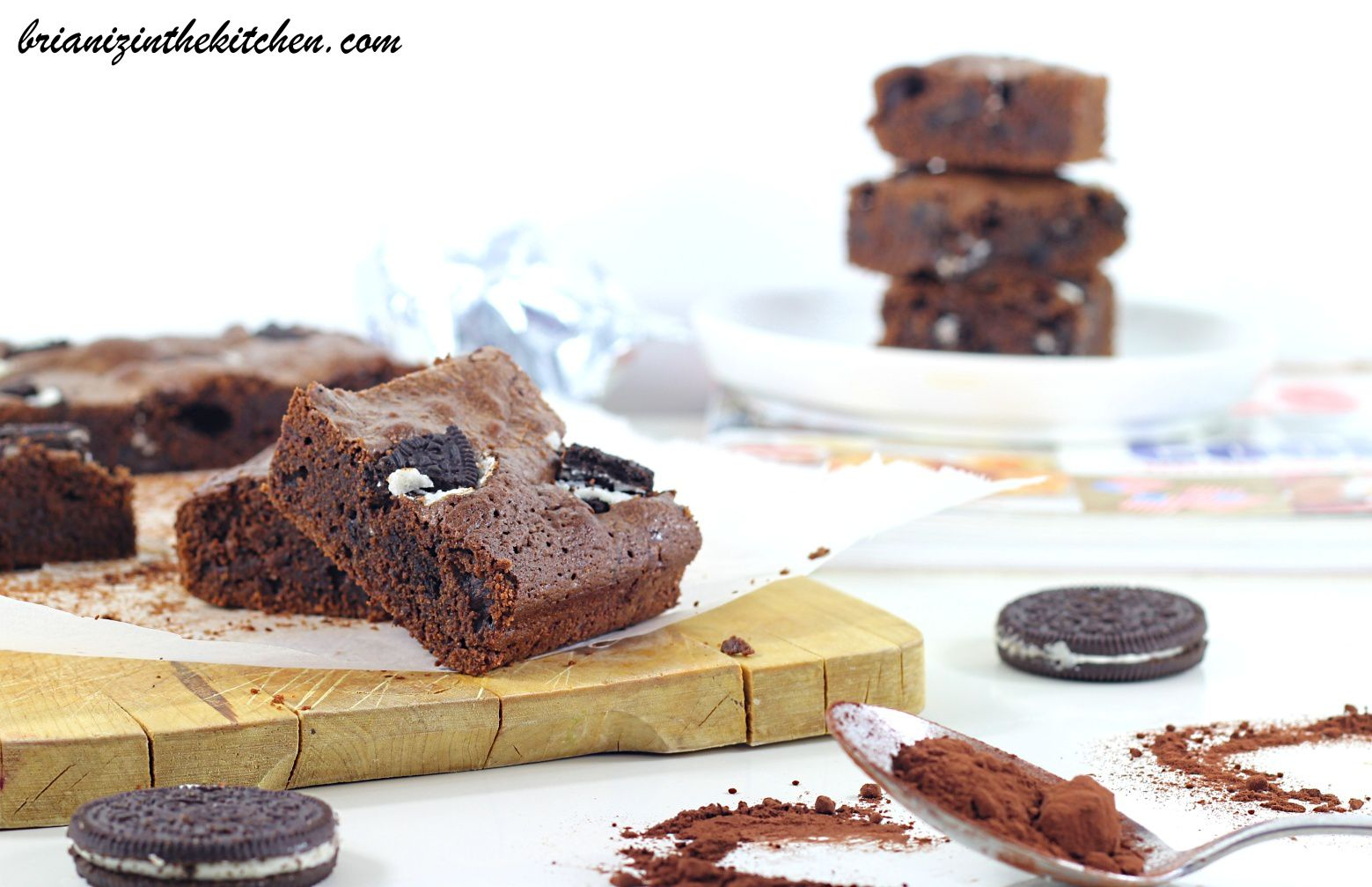 Brownie aux Oréos