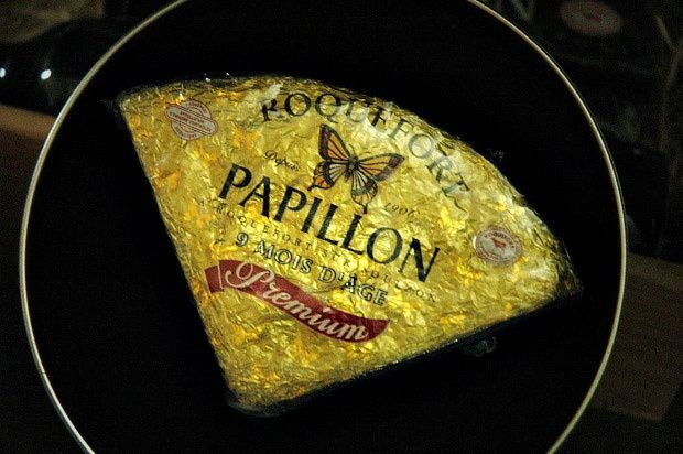 Velouté de céleri rave au Roquefort Papillon