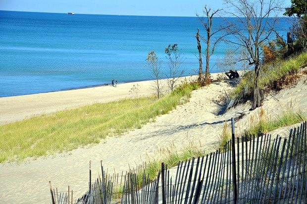 Doria aux Etats-Unis (4)...The Indiana Dunes