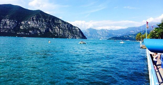 Doriane en Italie (2)... Iseo