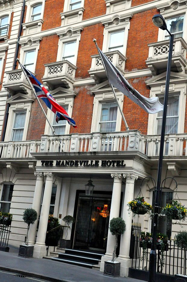 Doria à Londres...The MANDEVILLE HOTEL