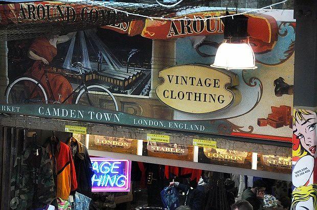 Doria à Londres...Camden Market