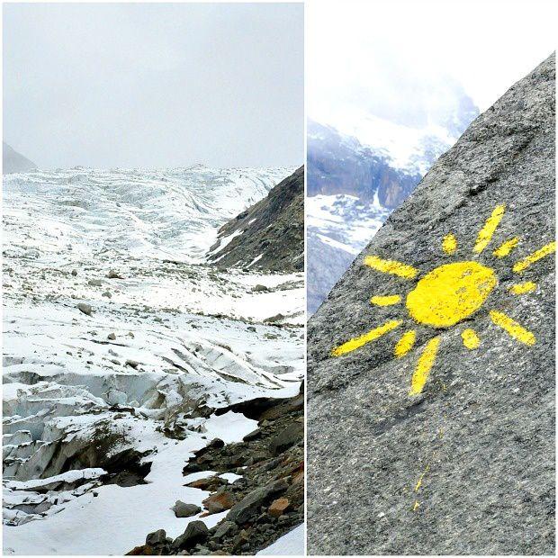 Chamonix 2014 (6) ... Rando au Glacier d'Argentière par le Chalet Refuge de Lognan
